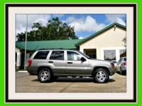 This 2000 Jeep Grand Cherokee Laredo 4x4 with leather