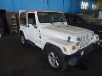 2000 Jeep Wrangler Sahara convertable hardtop in very