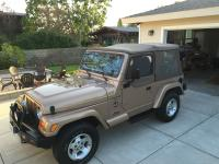 I have a 2000 jeep wrangler for sale. Endless amount of