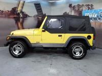 2000 Jeep Wrangler CARS HAVE A 150 POINT INSP, OIL