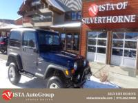 Come in today and take this Wrangler for a spin!. With