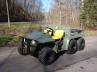 I am selling my 2000 John Deere 6x4 Trail Gator. This