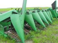 "2000 JOHN DEERE 893, 8 row, 30"" poly, new upper and"
