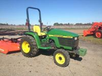 2000 John Deere JD 4300 In good shape! Tractors Compact