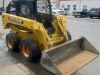 Name: 2000 John Deere Skid Steer 260. Rate: $11,999.