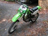 Clean bike, everything works, liquid cooled 4 stroke,