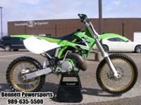 For Sale 2000 Kawasaki KX250 this bike has new bars,