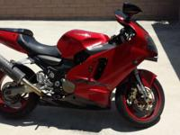 For Sale is an excellent condition red 2000 Kawasaki
