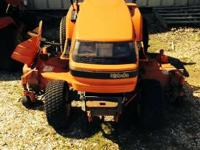 2000 Kubota G1900S G1900-S Hydrostatic Four wheel steer