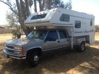 2000 Lance M1130 Camper & & 1999 Chevrolet 3500. This