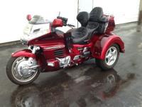 2000 Lehman Trikes/Honda GL1500 GTL trike CHERRY
