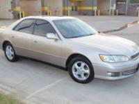 2000 LEXUS ES300 Gold Two Tone, Fully Loaded, 6 Disk CD