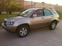2000 Burnished Gold Lexus RX 300 with tan leather