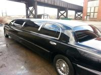 10 Passengers Limo, spick-and-span, runs great, with