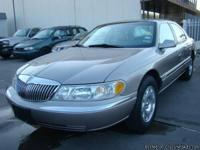 2000 LINCOLN CONTINENTAL 4.6L 8CYL CLEAN
