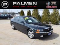 Black Clearcoat 2000 Lincoln LS V8 RWD 5-Speed