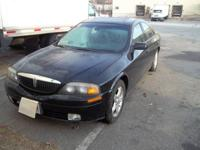 2000 Lincoln LS For Repair! Has a V8 motor that jumped