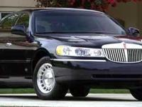 RIDE IN STYLE with this Lincoln Town Car with only
