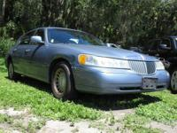 Check out this 2000 Lincoln Town Car Executive. Its