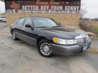 (512) 948-3430 ext.765 This Lincoln Town Car has a