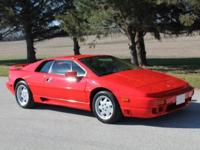 2000 Lotus Esprit V-8 Twin Turbo, Rare exotic: One of