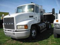 SINGLE AXLE TRACTOR MACK DSL CALL LARRY 8005620907