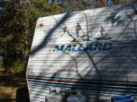 I'm selling this camper that belongs to my mom and dad.
