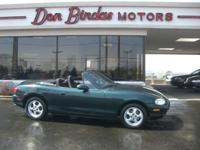 Options Included: N/AHere's a Well Cared For Miata with