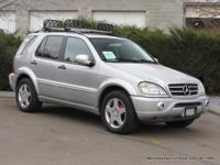 2000 ML 55 AMG BRANDED TITLE TRADE-IN, VEHICLE HAS BEEN