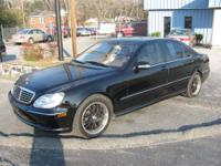 This Mercedes-Benz S500 rides and drives great. Clean