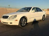 VERY NICE AND CLEAN 2000 MERCEDES S500, ONLY 89K MILES.