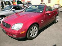 2000 Mercedes-Benz SLK-Class SLK230 Roadster 2D***Clean