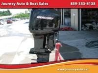 2000 Mercury Marine Outboard Motor - $6,500.