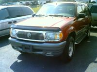 Options Included: N/AThis 2000 Mercury Mountaineer is
