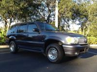 Take a look at this 2000 Mercury Mountaineer. This is a