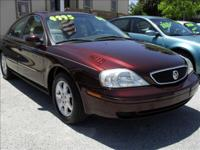 Options Included: N/A2000 MERCURY SABLE LS, 6 cyl,
