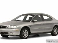 Options Included: N/AGood Looking! 2000 Mercury Sable