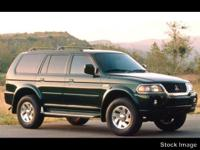 This 2000 Mitsubishi Montero Sport 4DR LS might just be