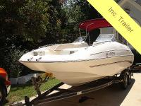 Monterey 22' bowrider, run about, deck boat, or ski