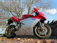 2000 MV Agusta F4 Serie Oro, recent service includes