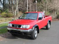 Year:	2000 Make:	Nissan Model:	Frontier Trim:	XE