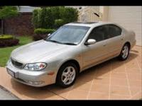 Options Included: N/AClean, Reliable Maxima Sunroof,