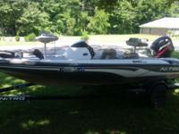 2000 Nitro 640 LX with Mercury 50 outboard motor and