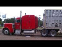 Here is a 2000 Peterbilt 379 EXD, powered by an ISX 565