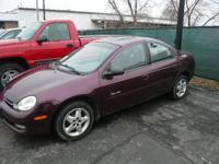2000 Plymouth Neon LX. This Neon features 2.0L engine ,