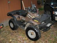2000 Polaris ATV, Xpedition 425, four stroke liquid