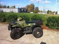 2000 Polaris 500 Sportsman. New front brakes and