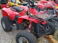 2000 polaris Scrambler 500 4X4. Recently replaced
