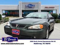 2000 Pontiac Grand Am 4dr Car SE1 Our Location is: El