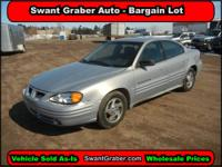 __ 2000 Pontiac Grand Am SE1- Swant Graber Auto Group